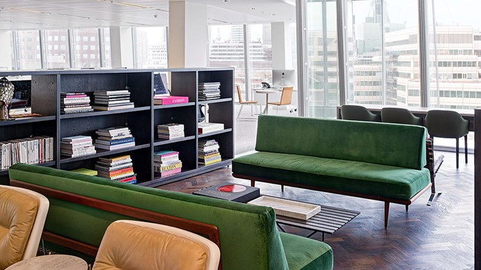 "<strong>What features do you think makes this space feel different from a standard office space? </strong> <br><br> <em>""In creating this space, Tom and Ruth's brief was People First. Typically offices are designed with the meeting rooms and directors offices enjoying the best views and positions – but here the staff sit at the windows and enjoy the 360 degree floor-to-ceiling windows. Every employee has unrivalled views spanning across London.""</em>"