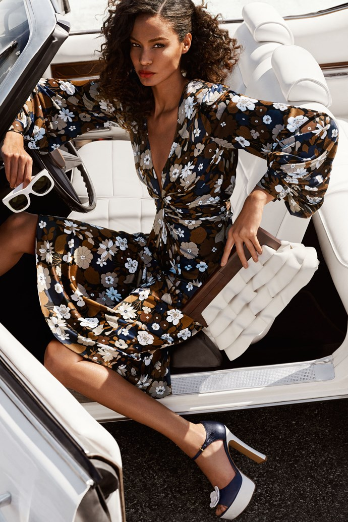 <strong>Michael Kors</strong> <br><BR> Modelled by Joan Smalls, shot by Mario Testino.