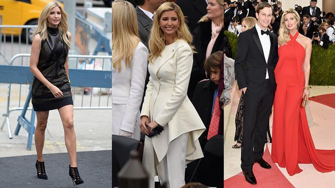 Having lived most of her adult life in the public eye, Ivanka Trump's style evolution is well documented. Here, we chart her early days as socialite and model through to her newly-found business mogul and presidential campaign strategist status.
