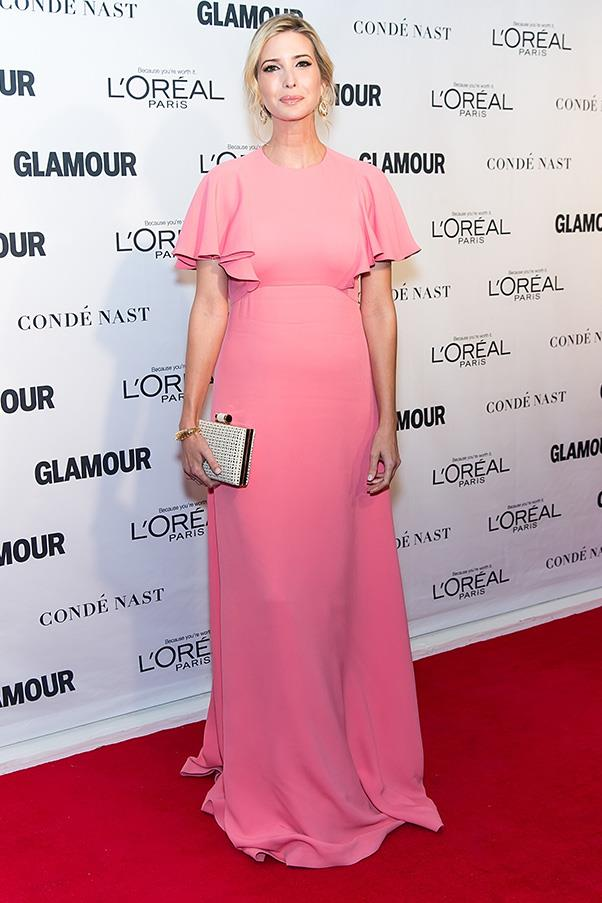 At <em>Glamour</em>'s Woman of the Year event, November 25.