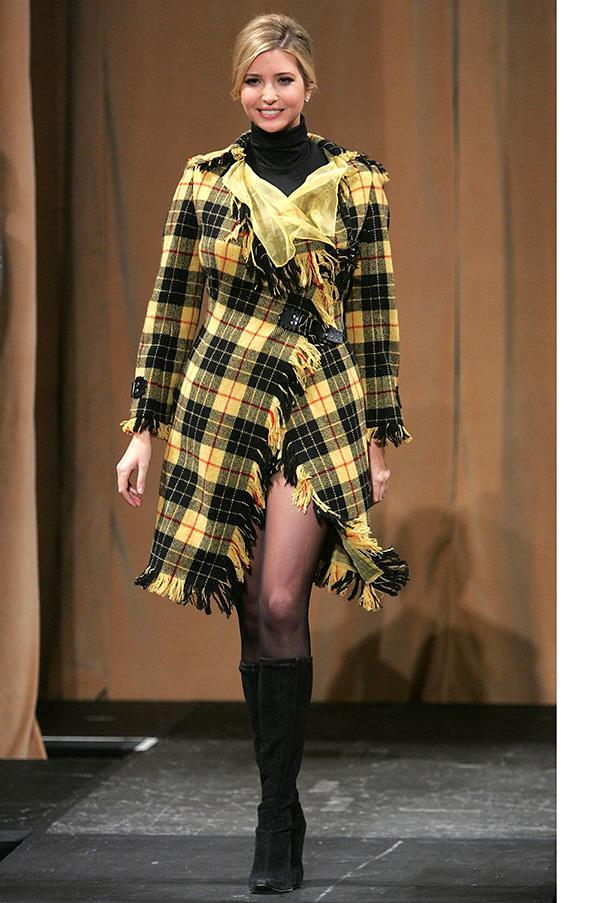 At the 'Dressed to Kilt' fashion show, April 2007.