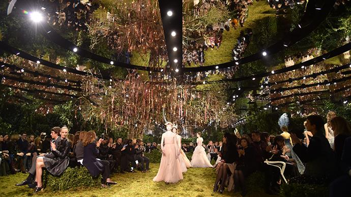 Every must-see moment from Maria Grazia Chiuri's show-stopping debut couture collection for Dior.