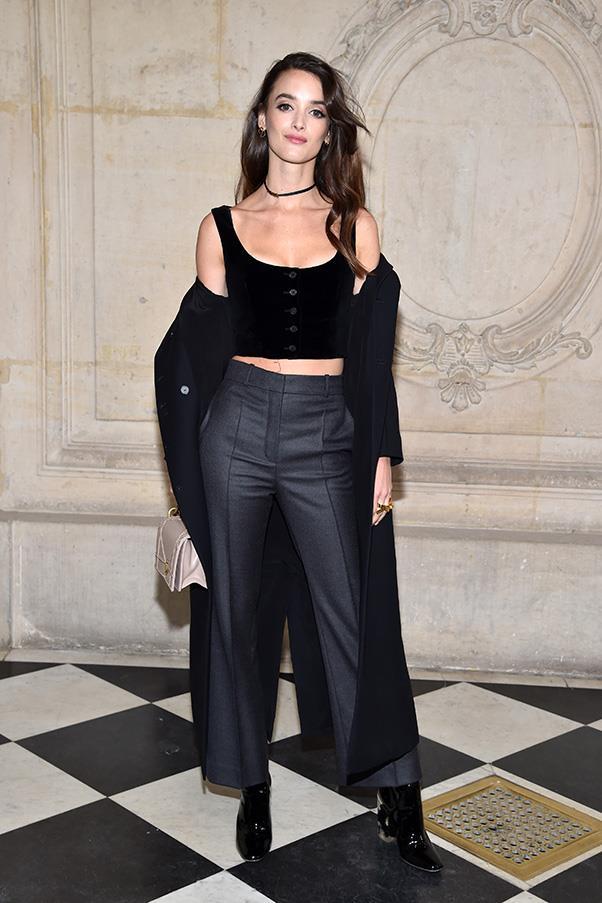 Charlotte Le Bon in Dior