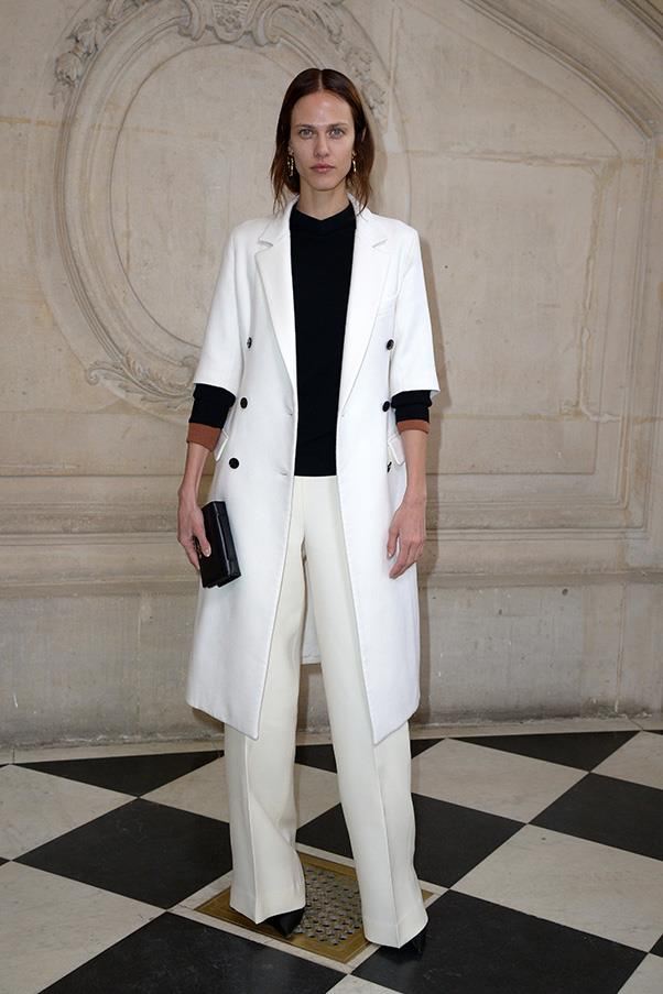 Aymeline Valade in Dior