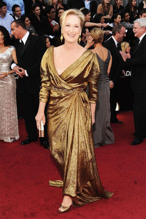 <strong>2012:</strong> <br><br> Meryl Streep in Lanvin