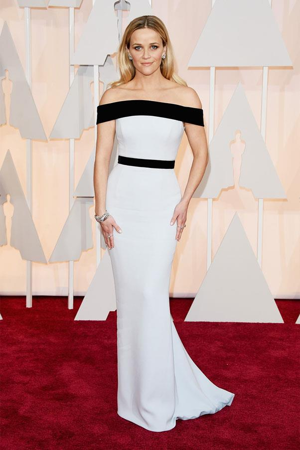 <strong>2015:</strong> <br><br> Reese Witherspoon in Tom Ford