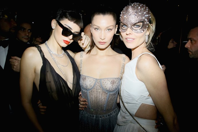"Following Maria Grazia Chiuri's first <a href=""http://www.harpersbazaar.com.au/runway-report/the-edit/2017/1/dior-haute-couture-spring-summer-17/"">couture show</a> for Dior, the house celebrated with a star-studded masquerade ball. Take a look inside the night here."