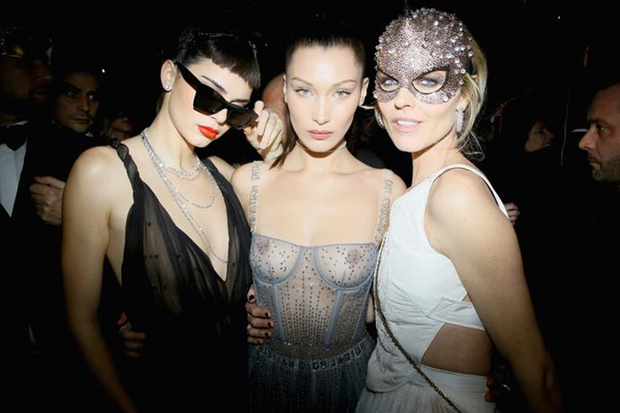 """Following Maria Grazia Chiuri's first <a href=""""http://www.harpersbazaar.com.au/runway-report/the-edit/2017/1/dior-haute-couture-spring-summer-17/"""">couture show</a> for Dior, the house celebrated with a star-studded masquerade ball. Take a look inside the night here."""