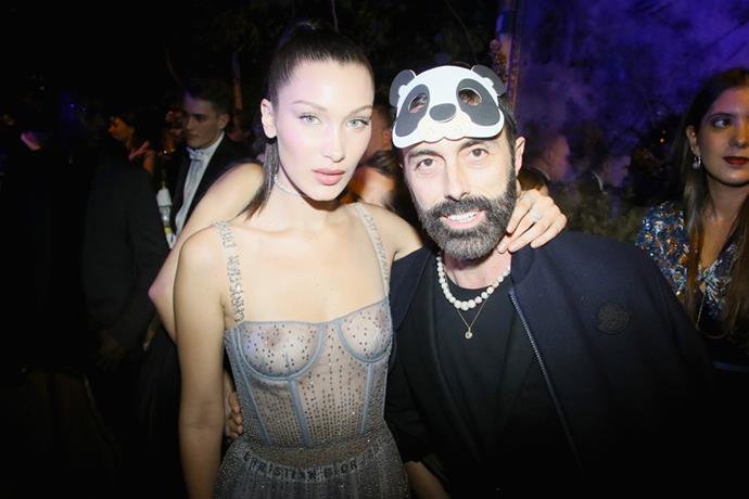 Bella Hadid and Giambattista Valli