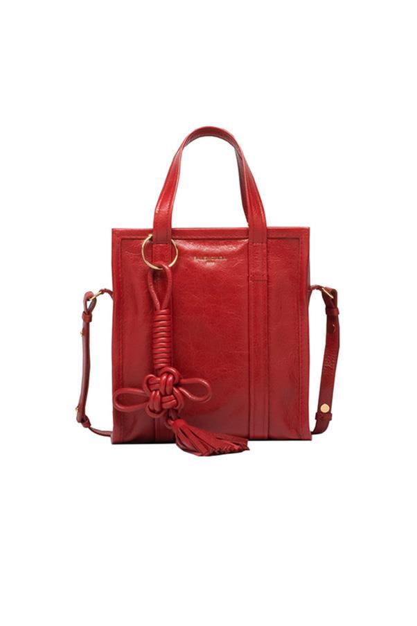 "Balenciaga bag, $2,110 at <a href=""http://www.balenciaga.com/au/seasonal-handbag_cod45331270sx.html"">Balenciaga</a>"