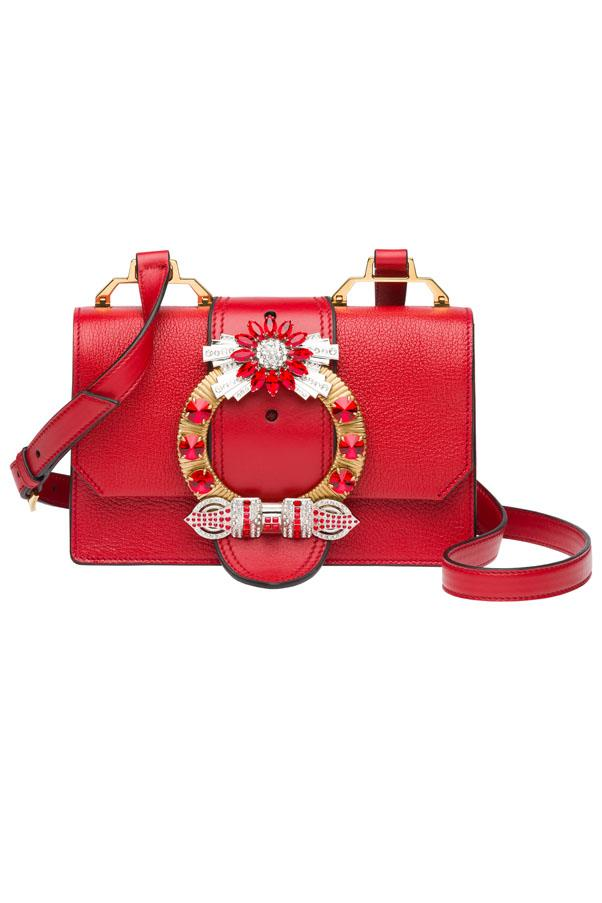 "Miu Miu bag, $3,100 exclusive to the <a href=""https://www.westfield.com.au/sydney"">Westfield Sydney</a> Boutique"