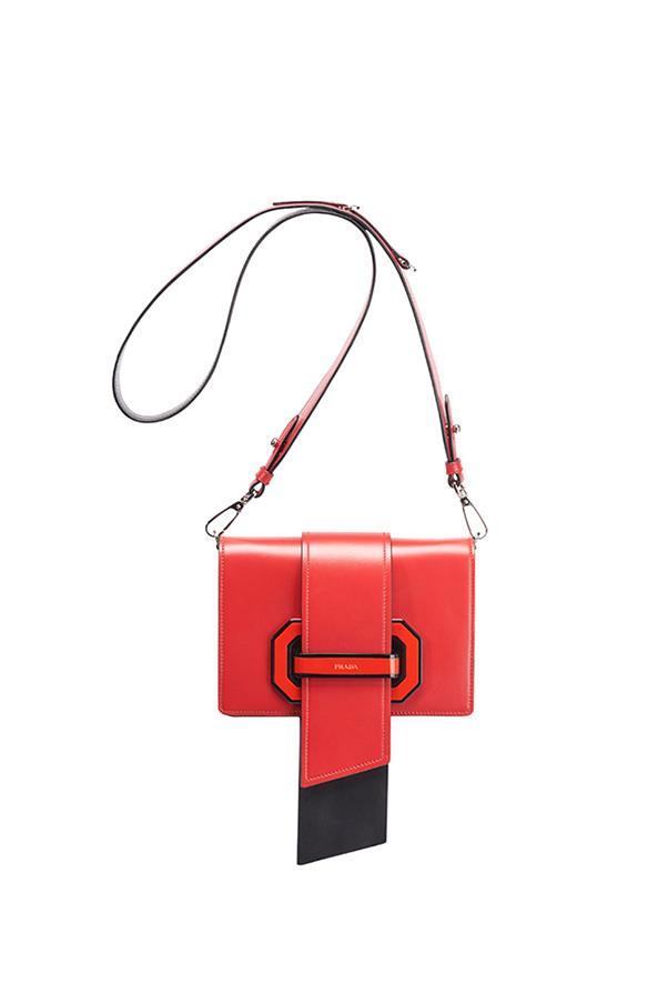 "Prada bag, $4,300 exclusive to <a href=""https://www.westfield.com.au/sydney"">Westfield Sydney Boutique</a>"