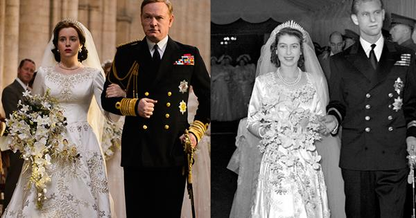 The Cast Of 'The Crown' Compared To The Real-Life Royals