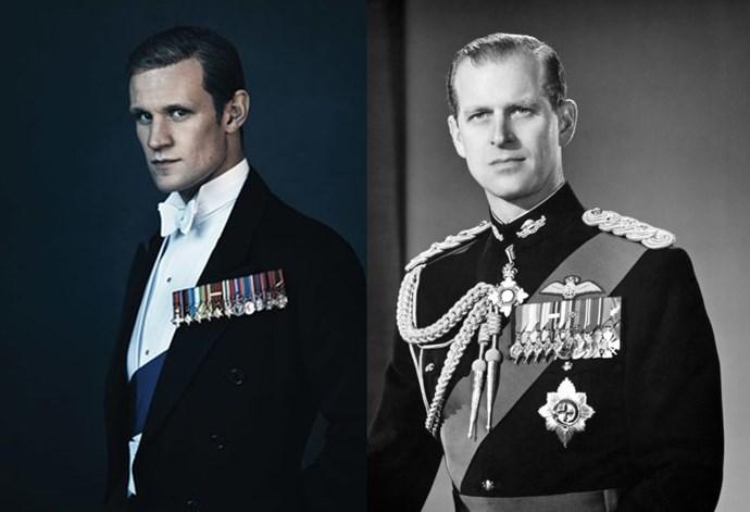 <strong>Matt Smith as Prince Philip</strong>
