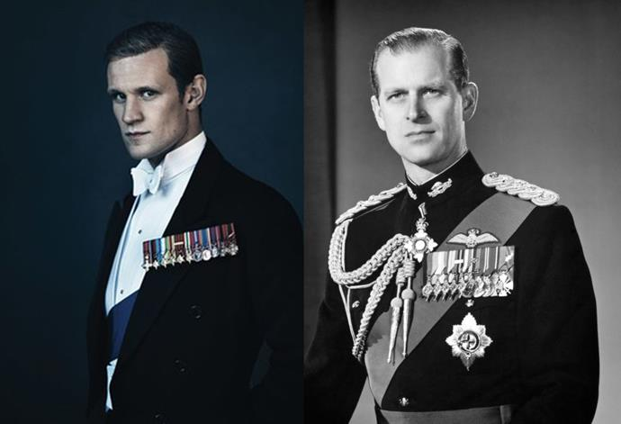 <strong>Matt Smith as Prince Philip</strong>