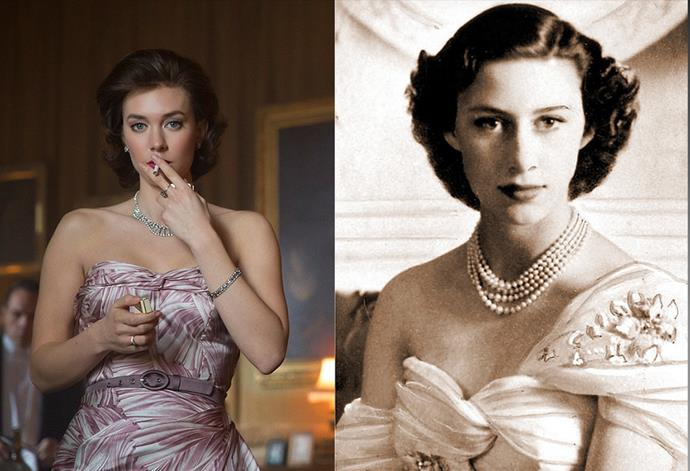 <strong>Vanessa Kirby as Princess Margaret</strong>
