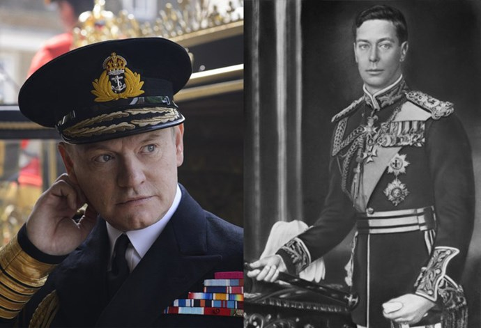 <strong>Jared Harris as King George VI</strong>