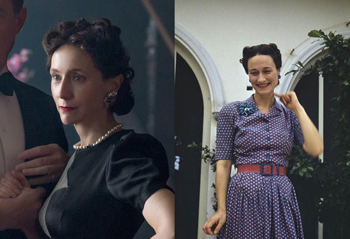 <strong>Lia Williams as Wallis Simpson</strong>