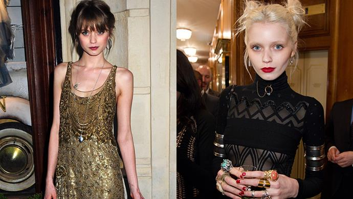 <strong>Abbey Lee</strong><br><br> Though the Australian model enjoyed success while her hair was a darker brunette hue in the early days of her career, it was the decision to go peroxide blonde that made Lee a household name. Nowadays her hair flits between different shades of blonde.