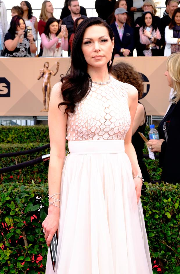 Laura Prepon and fiancé Ben Foster welcomed their first child, a baby girl, in July.