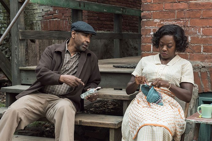 <em><strong>Fences</strong></em> <br><br> Fences stars Denzel Washington and Viola Davis as a couple who deal with issues around race, family and lost dreams in the 1950s. <br><br> <em>Fences</em> will be released on February 9.