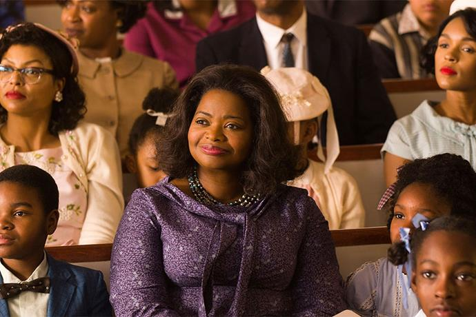 <em><strong>Hidden Figures</strong></em> <br><br> Hidden Figures tells the unknown story of the American-American women who worked behind the scenes at NASA during one of its greatest operations in history: the launch of astronaut John Glenn into orbit. <br><br> <em>Hidden Figures</em> is released on February 16, but there are advance screenings taking place on Feb. 10, 11 and 12.