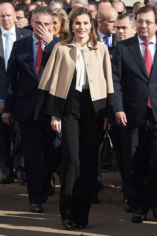 Queen Letizia holds a Master's in Audiovisual Journalism and has worked as a newspaper journalist as well as a news anchor.