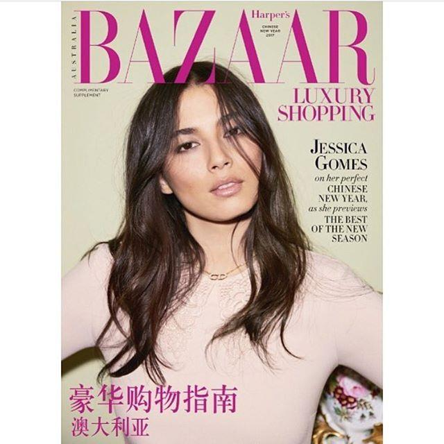 <em>Harper's BAZAAR</em> Australia's Chinese New Year issue is out now. Starring Jessica Gomes wearing Dior from David Jones; Styled by Naomi Smith; Photographed by Max Doyle.