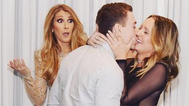 Céline Dion Photobombed This Couple's Engagement In The Best Way Possible