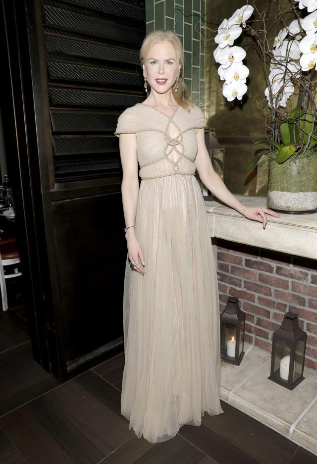 Nicole Kidman in Vionnet.