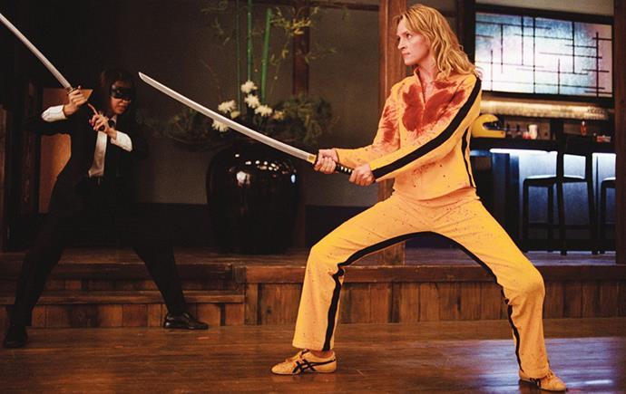 The Bride's Onitsuka Tigers in *Kill Bill: Volume 1* (2003)