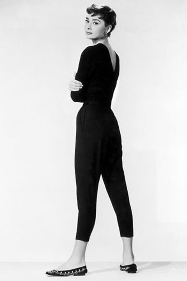 Jo Stockton's ballet flats in *Funny Face* (1957)