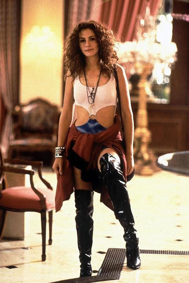 Vivian Ward's thigh-high boots in *Pretty Woman* (1990)