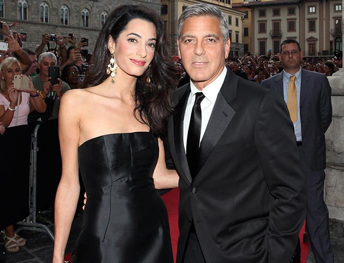 George and amal clooney pregnant