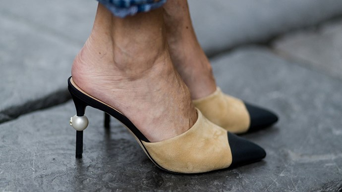 <strong>Wear in your heels beforehand</strong> <br><br> Don't be that woman who spends her day and night hobbling before eventually kicking off her heels at the end of the evening. If you want to buy a new pair of shoes for the occasion, fine, but just make sure you've worn them in first. Nothing looks less chic than someone who looks like they're enduring a torture exercise.