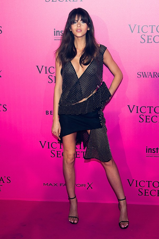 At the Victoria's Secret after party, November 2016.