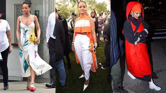 Style Queen Rihanna's sartorial offering has been off the charts of late. Here, we celebrate her most insane, incredible looks as they happen.