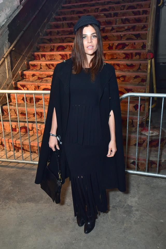 Julia Restoin-Roitfeld at Alexander Wang