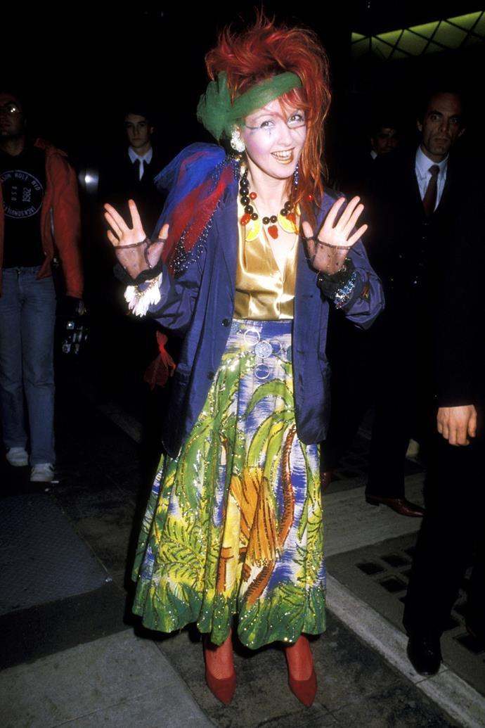 <strong>Cyndi Lauper, 1984</strong>