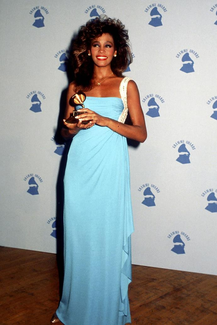 <strong>Whitney Houston, 1986</strong>