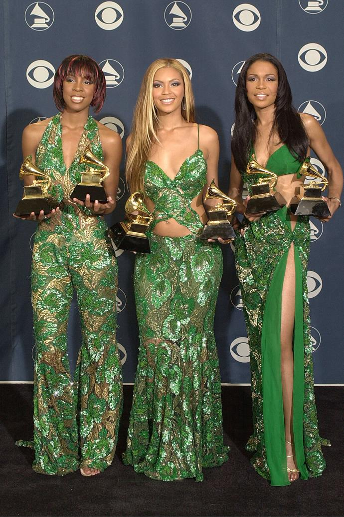 <strong>Destiny's Child in Tina Knowles, 2001</strong>