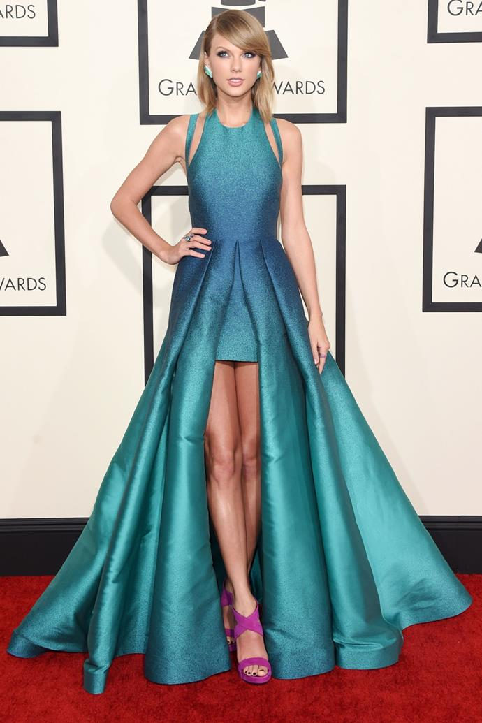 <strong>Taylor Swift in Elie Saab, 2015</strong>