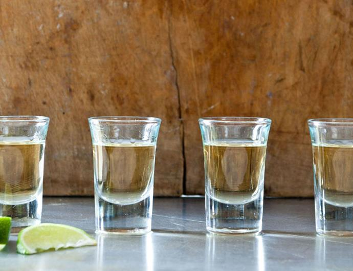 drinking tequila can help you lose weight
