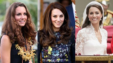 Kate Middleton's Beauty Evolution