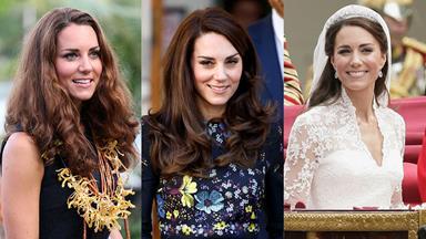 Kate Middleton's Beauty Evolution