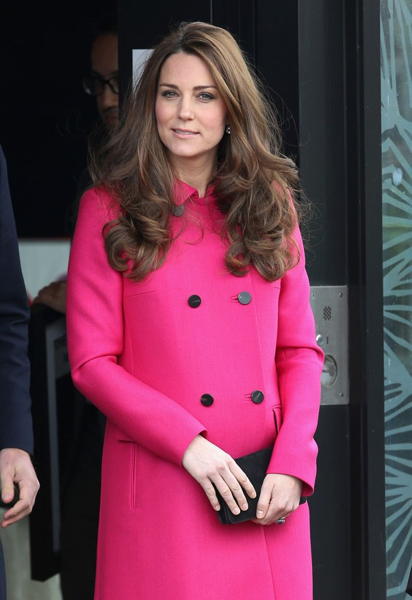 <strong>March, 2015</strong> <br><br> Kate went for a subtle liner and fuller brow.