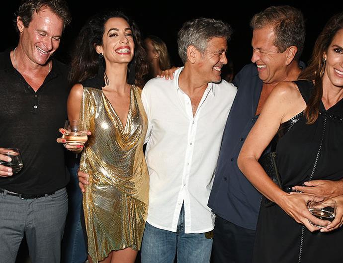 Cindy Crawford Amal Clooney Pregnancy