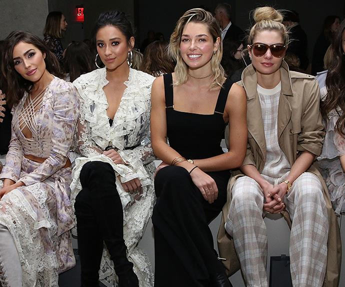 front row style new york fashion week