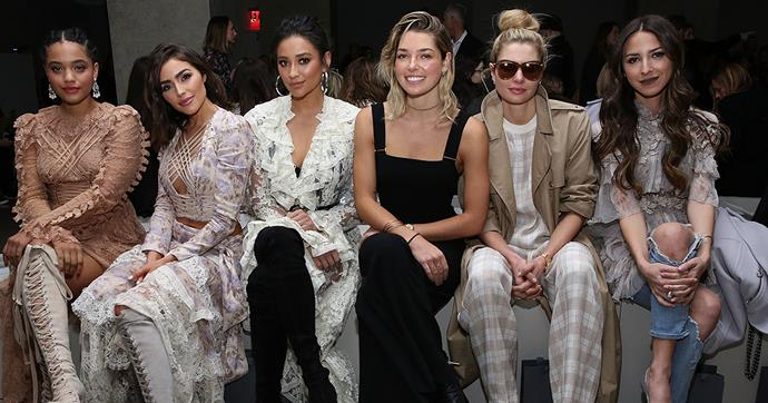 See the very best front row style from New York fashion week A/W '17-'18 right this way...