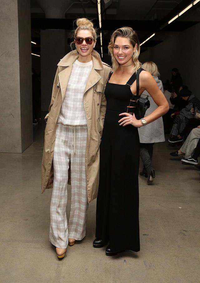Jessica and Ashley Hart at Zimmermann